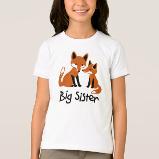 Big Sister - Mod Fox family announcement t-shirts