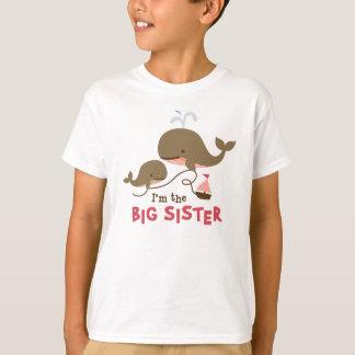 Big Sister - Mod Whale T-Shirt