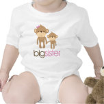 Big Sister Monkey Pregnancy Announcement T-shirt