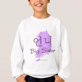Big Sister (of a Girl) Korea Sweatshirt