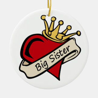Big Sister ornament