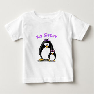 Big sister Penguin Baby T-Shirt
