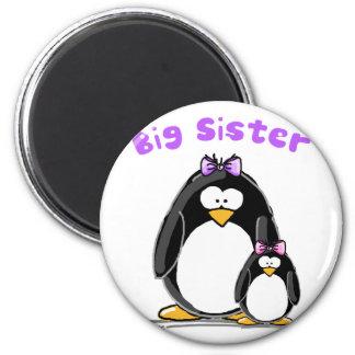 Big sister Penguin Refrigerator Magnets