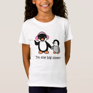 Big Sister Penguin T-Shirt
