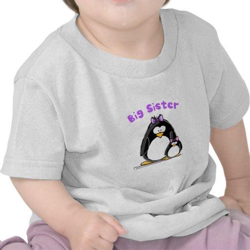 Big sister Penguin Tee Shirt