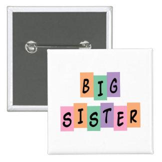 Big Sister Pinback Button