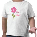 Big Sister Pink Flower Shirt