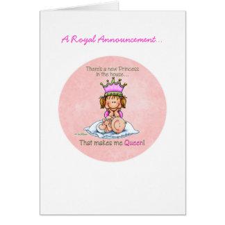 Big Sister - Queen of Princess Greeting Card