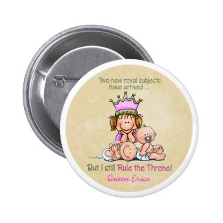 Big Sister - Queen of Twins 6 Cm Round Badge