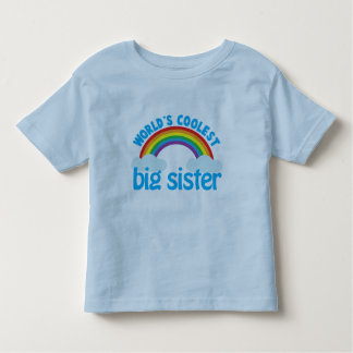 big sister rainbow toddler T-Shirt
