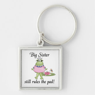 Big Sister Rules the Pad Gifts Key Chain