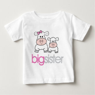 Big Sister Sheep Pregnancy Announcement T-shirt