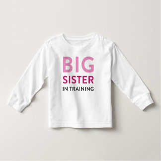 Big Sister Shirt Announcement, Sister in Training