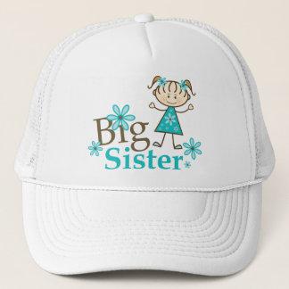 Big Sister Stick Figure Cap