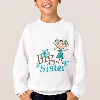 Big Sister Stick Figure Sweatshirt