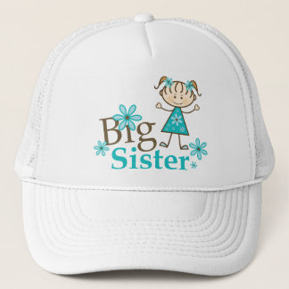 Big Sister Stick Figure Trucker Hat