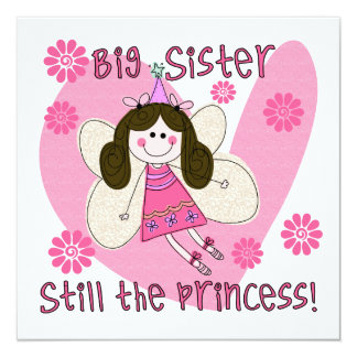 Big Sister Still the Princess Invite