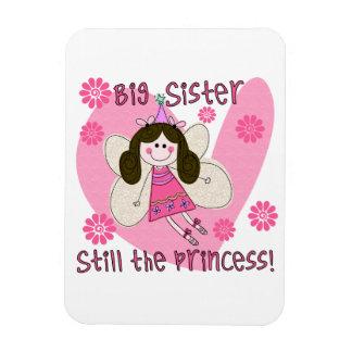 Big Sister Still the Princess Vinyl Magnet