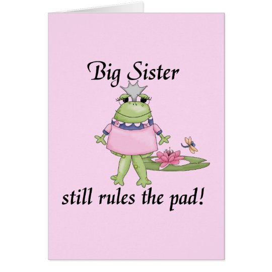 Big Sister T-shirts and Gifts Card