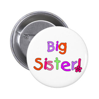 Big Sister T-shirts and Gifts Pinback Buttons