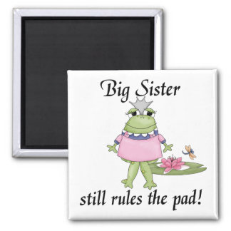 Big Sister T-shirts and Gifts Square Magnet