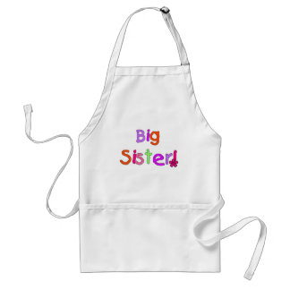 Big Sister T-shirts and Gifts Standard Apron