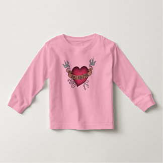 Big Sister Tattoo Heart Tshirts