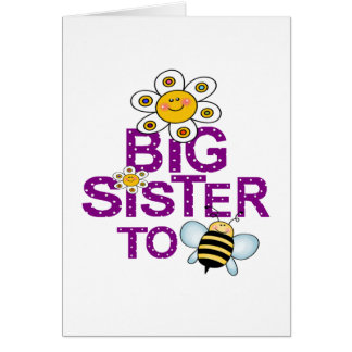 Big Sister To Be! Greeting Card