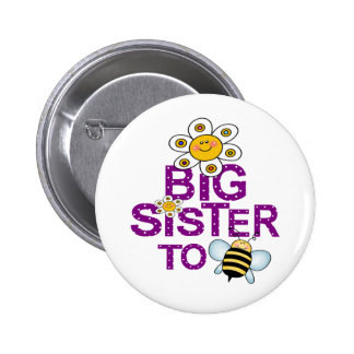 Big Sister To Be! Pinback Button