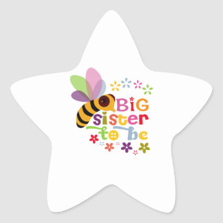 Big Sister To Be Sticker