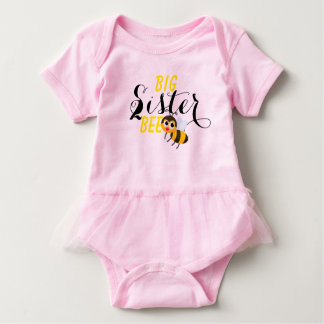 big sister to bee baby bodysuit