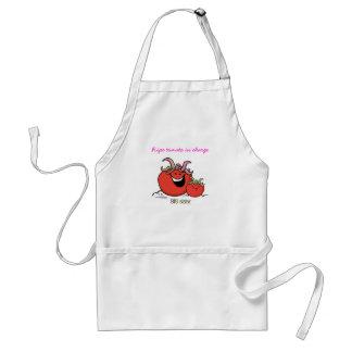 Big Sister - Tomato Standard Apron