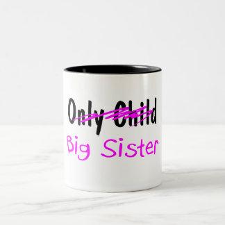 Big Sister Two-Tone Mug
