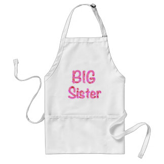 Big Sister Typography Standard Apron