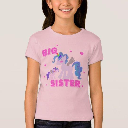 BIG SISTER UNICORN SHIRT Cute unicorns!