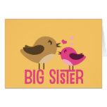 Big Sister With Birdies Card