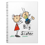 Big Sister with Little Brother Gifts Notebooks