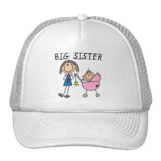 Big Sister with Little Sis Tshirts Trucker Hats