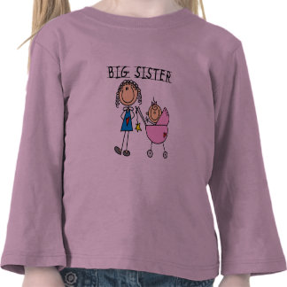 Big Sister with Little Sister T-shirts and Gifts
