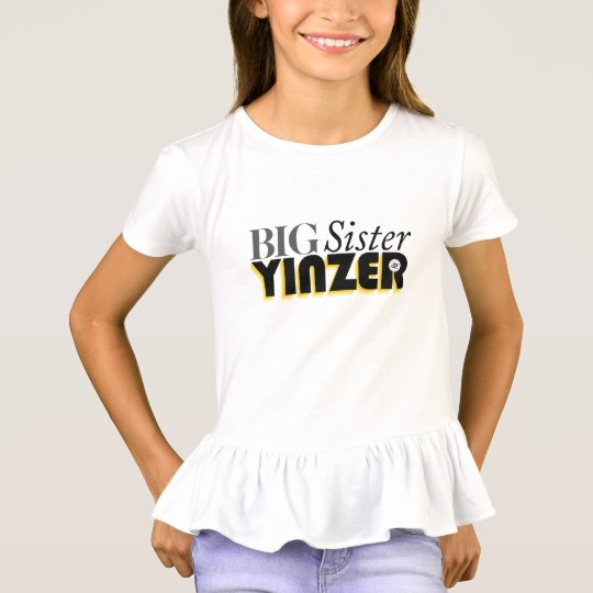 Big Sister Yinzer T-Shirt