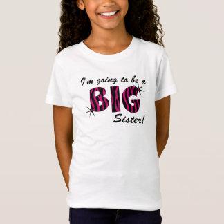 big sister zebra T-Shirt