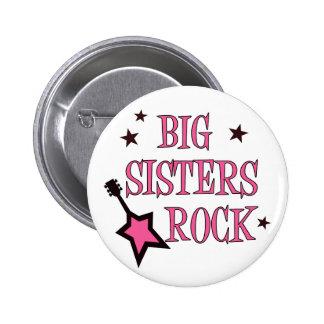 Big Sisters Rock 6 Cm Round Badge