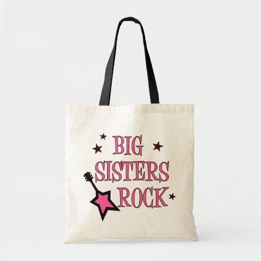 Big Sisters Rock Canvas Bag