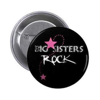 Big Sisters Rock Button