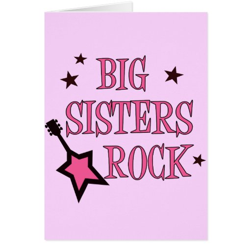 Big Sisters Rock Cards
