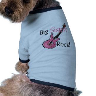 Big Sisters Rock Pet Tee Shirt
