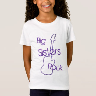 Big Sisters Rock in Purple T-Shirt