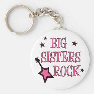 Big Sisters Rock Key Ring