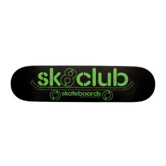 Big-Sk8club-logo-deck-blk 19.7 Cm Skateboard Deck