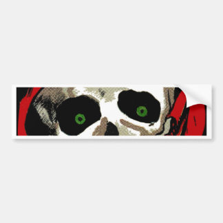 Big Skull Bumper Sticker